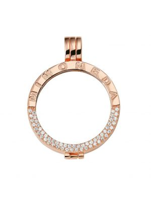 Deluxe 925 Silver Rose Gold Plated Large Holder