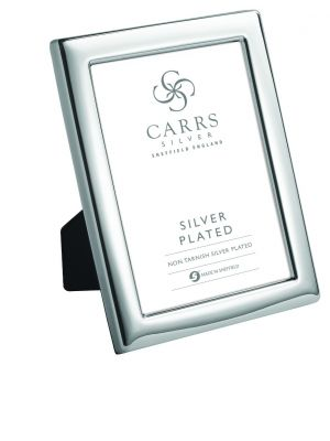 Carrs silver plated 8x6 photo frame