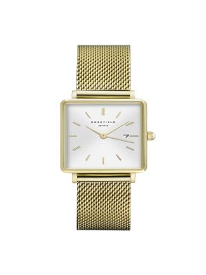 Rosefield The Boxy White Sunray Mesh Gold