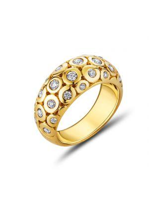 18ct Yellow Gold Diamond Eternity Ring