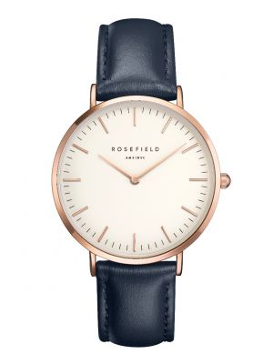 Rosefield Bowery navy & roseplate watch