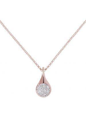 Bronzallure Altissima cz teardrop pendant necklace
