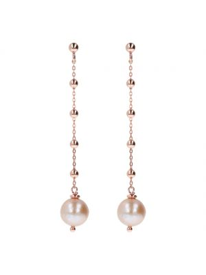 Bronzallure Delicate Pearl Drop Earrings