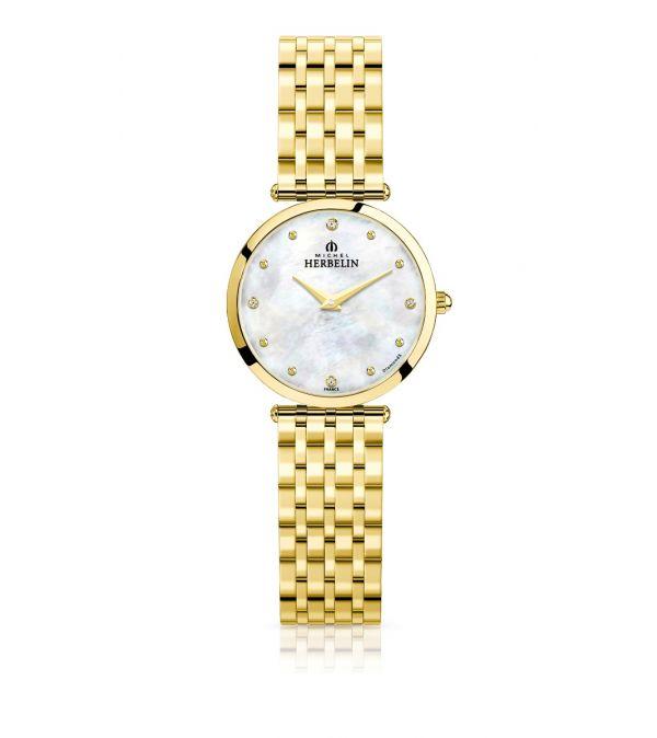 Ladies Michel Herbelin Epsilon bracelet watch
