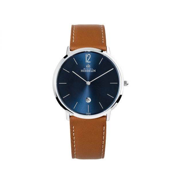 Gents Michel Herbelin Acier Inox Strap Watch