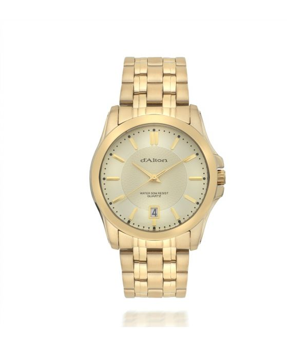 d'Alton Gents Gold Plated Watch