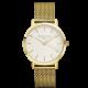 Rosefield Mercer yellow plated watch 38mm